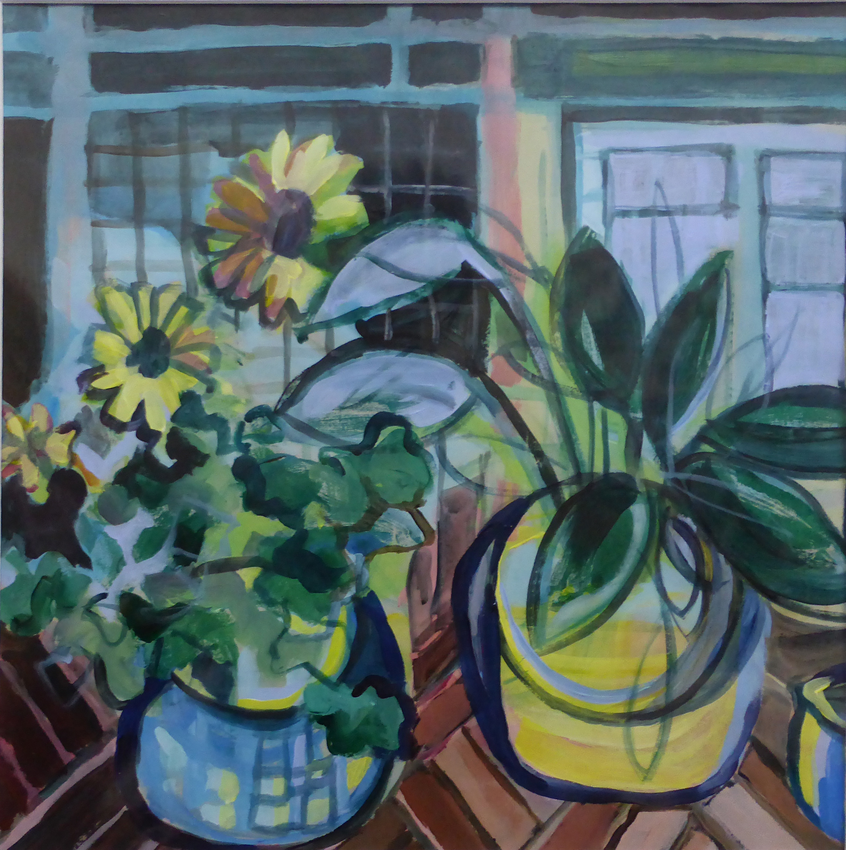 Still Life with Sunflowers (SOLD)