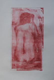 Fused - monoprint
