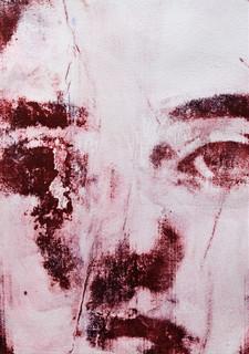 Isolation, Gum Arabic print.