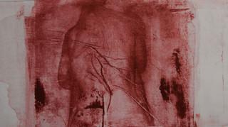Invisible - monoprint