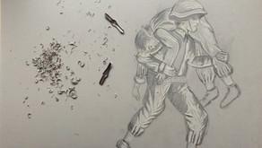 British Legion Linocut
