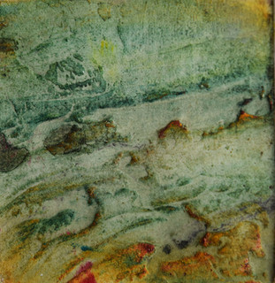 Collograph 1, New Beginnings