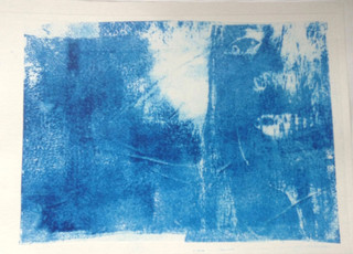 Isolation, Gum Arabic print