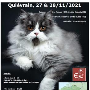 Next show in Quievrain (BE)