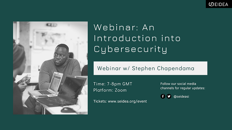 Webinar: An Introduction into Cybersecurity