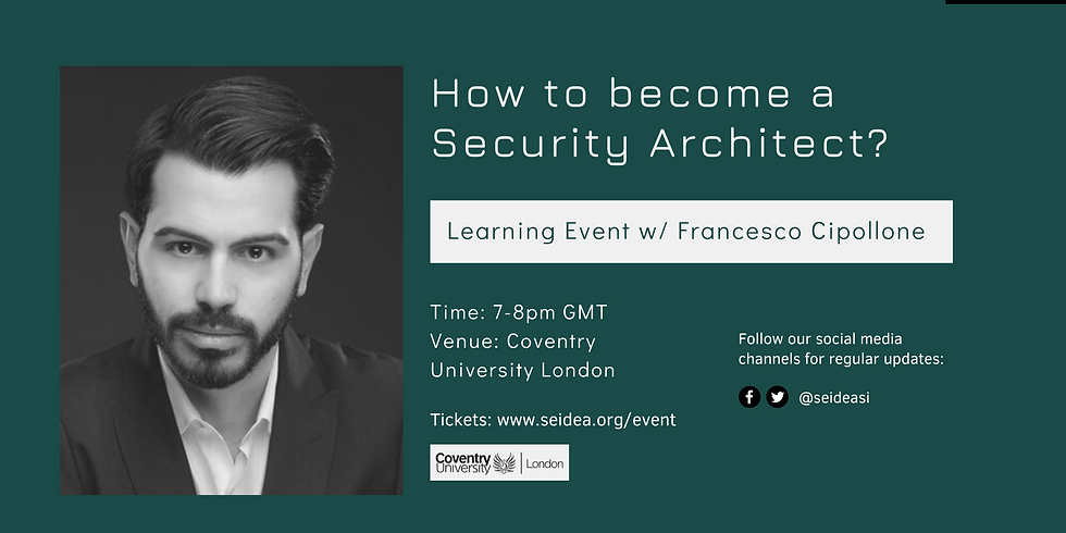Learning Table: How to become a Security Architect?