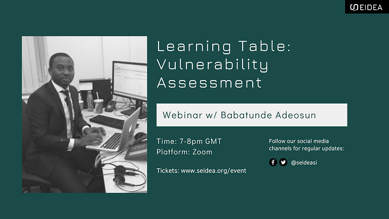 Learning Table: Vulnerability Assessment