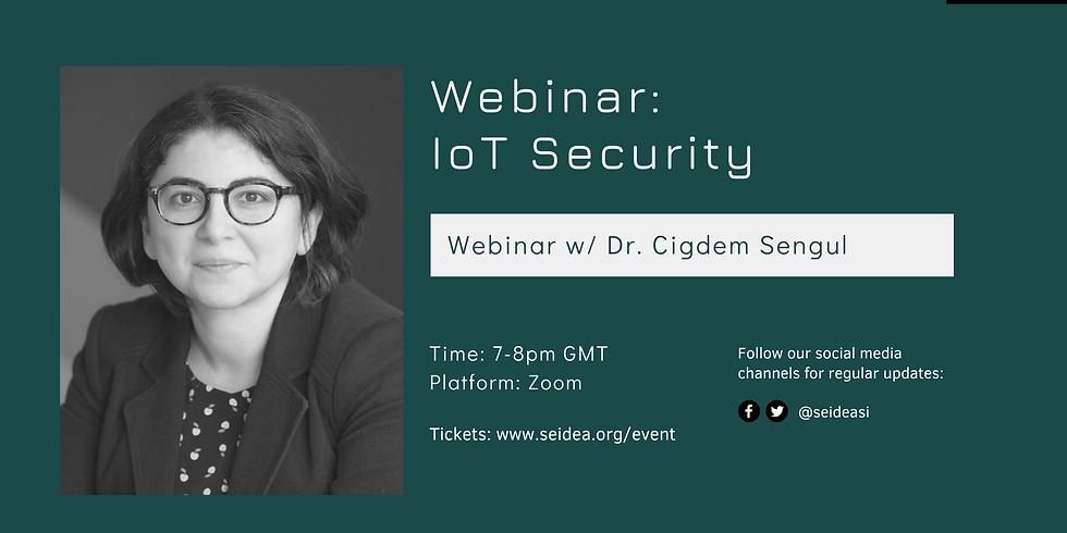 Webinar: IoT Security