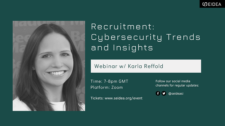 Recruitment Event: Cybersecurity Trends and Insights