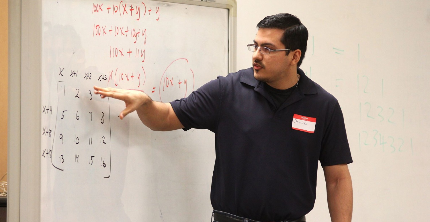 Teaching Algebra with Dr. Knill