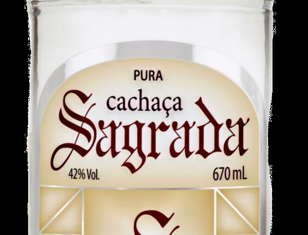 Cachaça Sagrada Prata Pura 670 ml