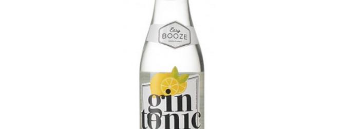 Gin Tônica Easy Booze Garrafa