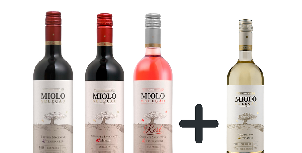 Combo Miolo Seleçāo compre 3 ganhe 1
