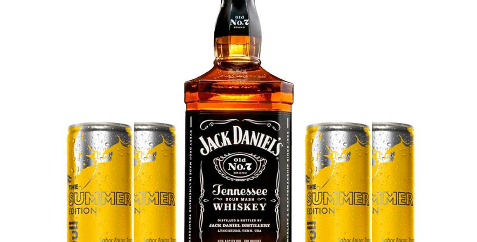 Combo Jack Daniels + 4 Red Bull Summer