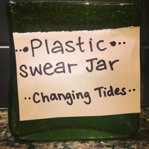 For the next 7 days, we will be joining @changingtidesfoundation and a passionate global community in a mindfulness exercise about the amount of single-use plastics in our daily lives. Every time we purchase/use a single-use plastic item (straws, bottles, bags, coffee lids, etc), we will be putting $1 in this jar. And you can too! Adjust the amount to whatever you're comfortable with and take the next week to be extra mindful of your consumption and the effects our lifestyles have on the oceans, our source of life. Once the challenge is complete, we will be donating the contents of our jar to Changing Tide's global projects, working to create a more sustainable world. Who's with us?! Hope you have all had a beautiful Earth Day 🌏🌿🌊