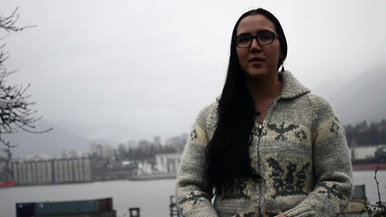 Erika, ancestral name tsatsiloet, is a kayak guide and outdoor education facilitator for Talaysay Tours, based in Vancouver and Sechelt, British Columbia.  She is wise, passionate and proud of her Shíshálh(Sechelt), Tsimshian First Nations and Dutch ancestry, speaking beautifully about her peoples' traditions in connection to water.  Erika strongly believes that increased awareness will bring young people together to fight for systemic changes that benefit the environment and all its inhabitants.