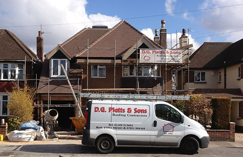 DG Platts & Sons Roofing Contractors - Loughborough, Leicestershire - 01509 213 604 - 07951 968