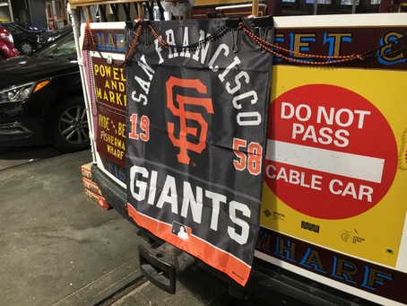 60th Anniversary of the SFGiants arrival...