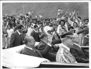 Presidente João Figueiredo (1979-1985).