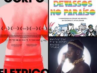 Um filme, um livro, uma música - PRIDE LGBTQIA+