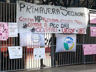 Educação e movimento estudantil no Brasil (2015-2021)