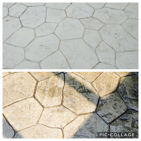 Flagstone - Before & After Seal