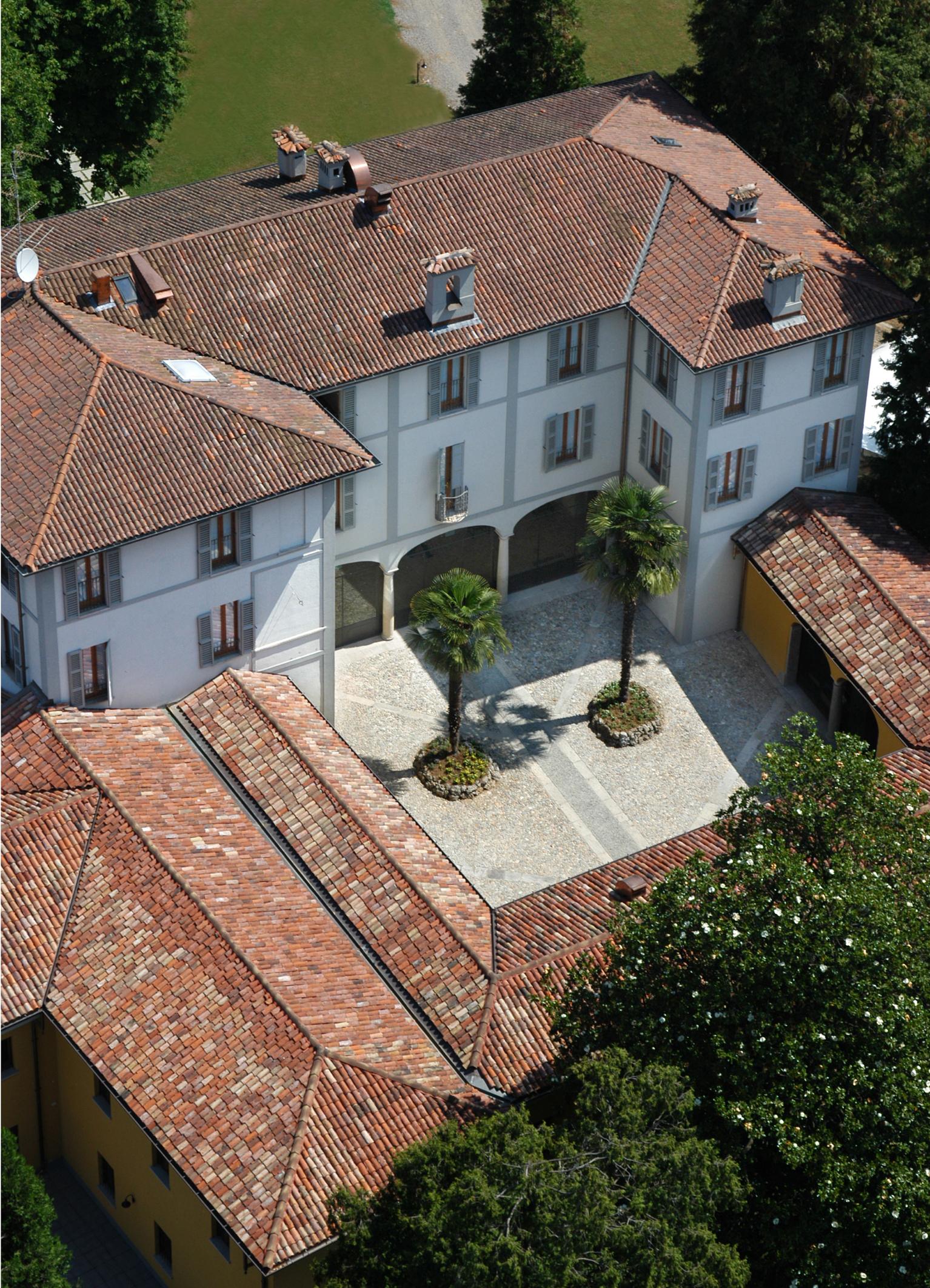 Villa Bregana_foto aerea