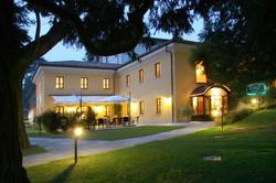 Villa Bregana esterno luci