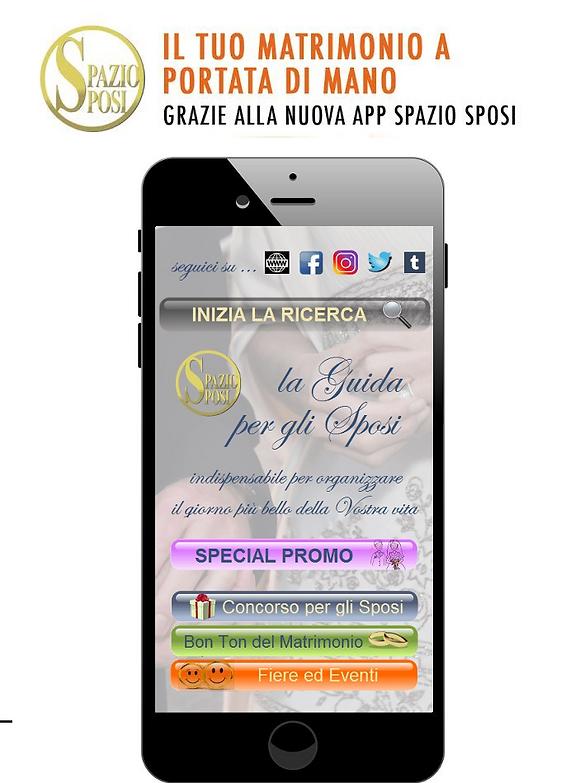 New app SpazioSposi