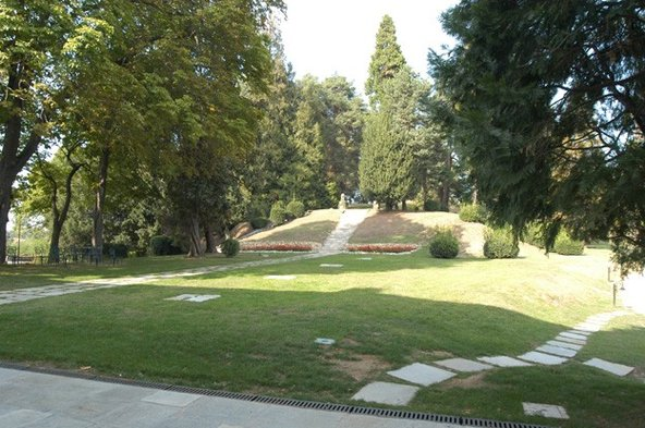 Villa Bregana giardino