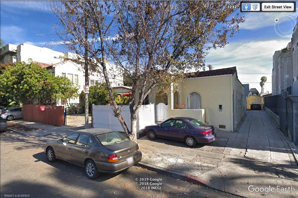 1234 N June Street Google earth