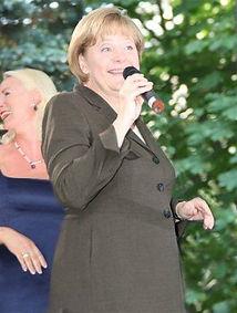 Singing For Angela Merkel.JPG