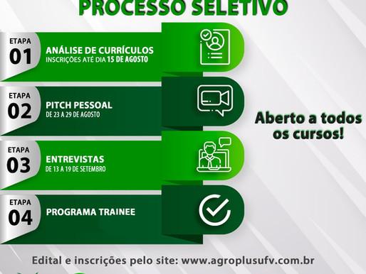 Equipe Agroplus UFV Abre Processo Seletivo