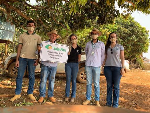 Realizada campanha do Programa SojaPlus no Alto Paranaíba
