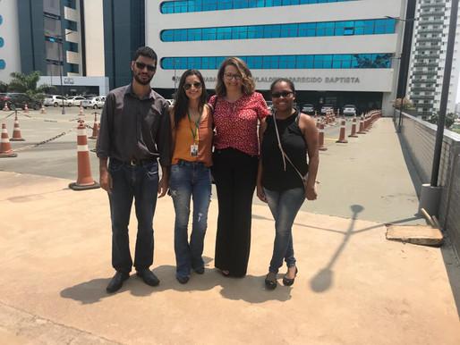 Viagem à Cuiabá - MT para apresentação e prospecção de projetos