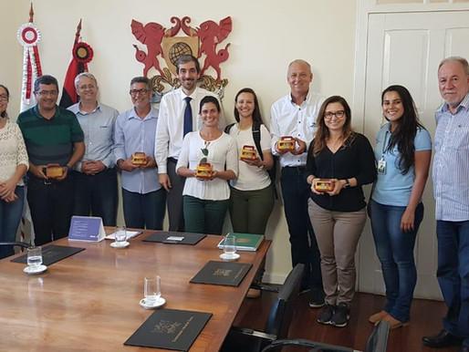 Visita de representantes de instituições privadas e públicas do Oeste da Bahia e Noroeste de Minas