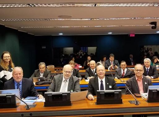 Presença na audiência pública na Câmara dos Deputados, em Brasília
