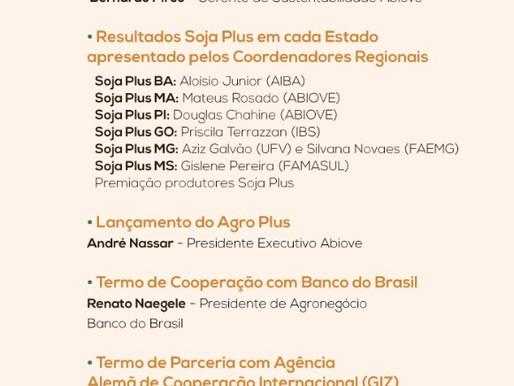 Seminário Soja Plus Brasil - lançamento do Agro Plus