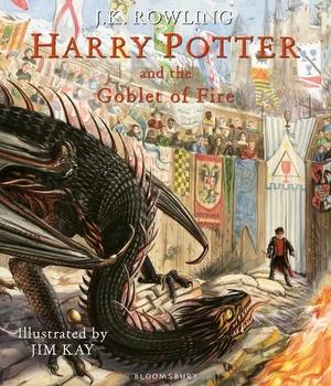 Harry Potter Goblet of Fire illustrated