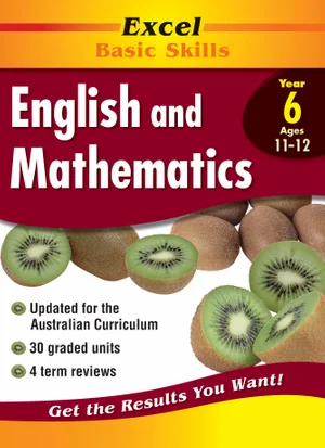 English and Mathematics Workbook Year 6