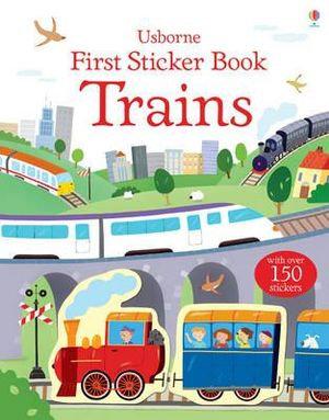 First Sticker Book Trains