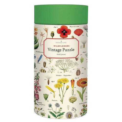 Cavallini 1000 Pc Puzzle - Wildflowers