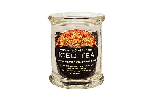 Ruby Rose & Elderberry Iced Tea - Jar