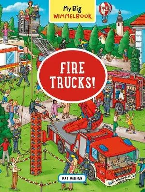 My Big Wimmelbook Fire Trucks!