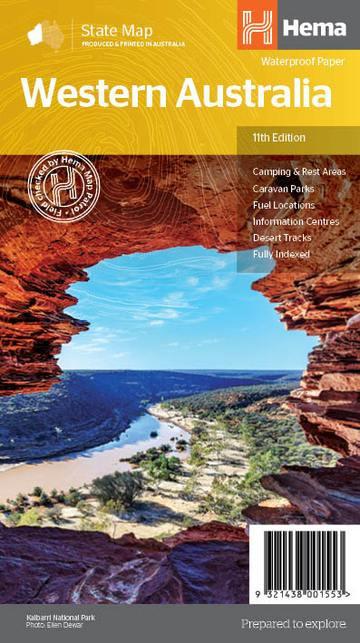 Western Australia State Map