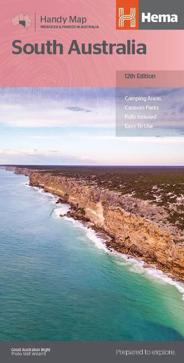 South Australia Handy Map