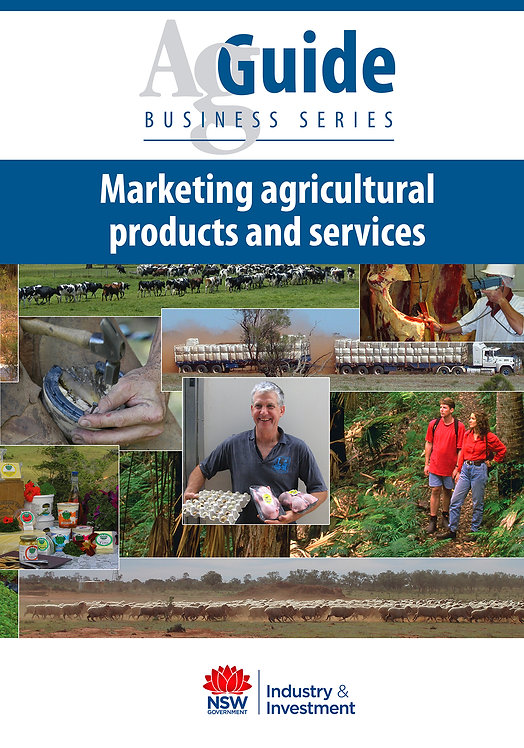 AgGuide:Marketing Agricultural Products and Services