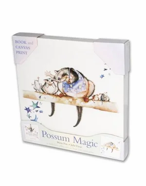 Possum Magic Book and Canvas Print