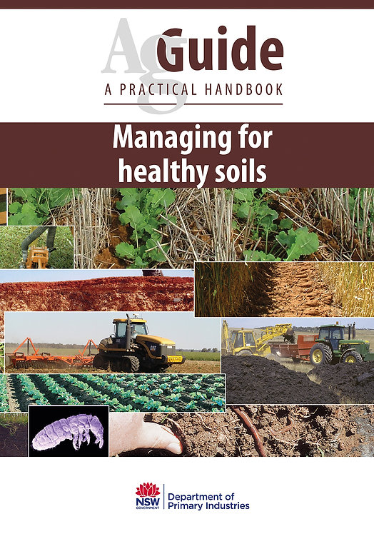 AgGuide: Managing for Healthy Soils