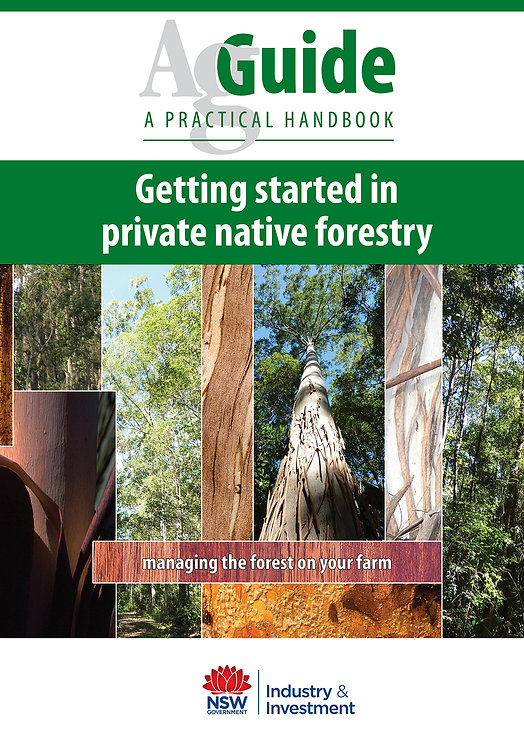 Agskills: Getting started in private native forestry